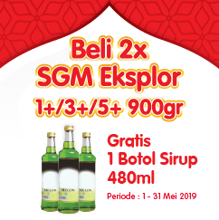 Promo Ramadhan - Sirup All Variant