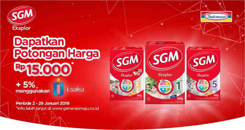 Promo Sgm X Indomaret Potongan Harga 7 5