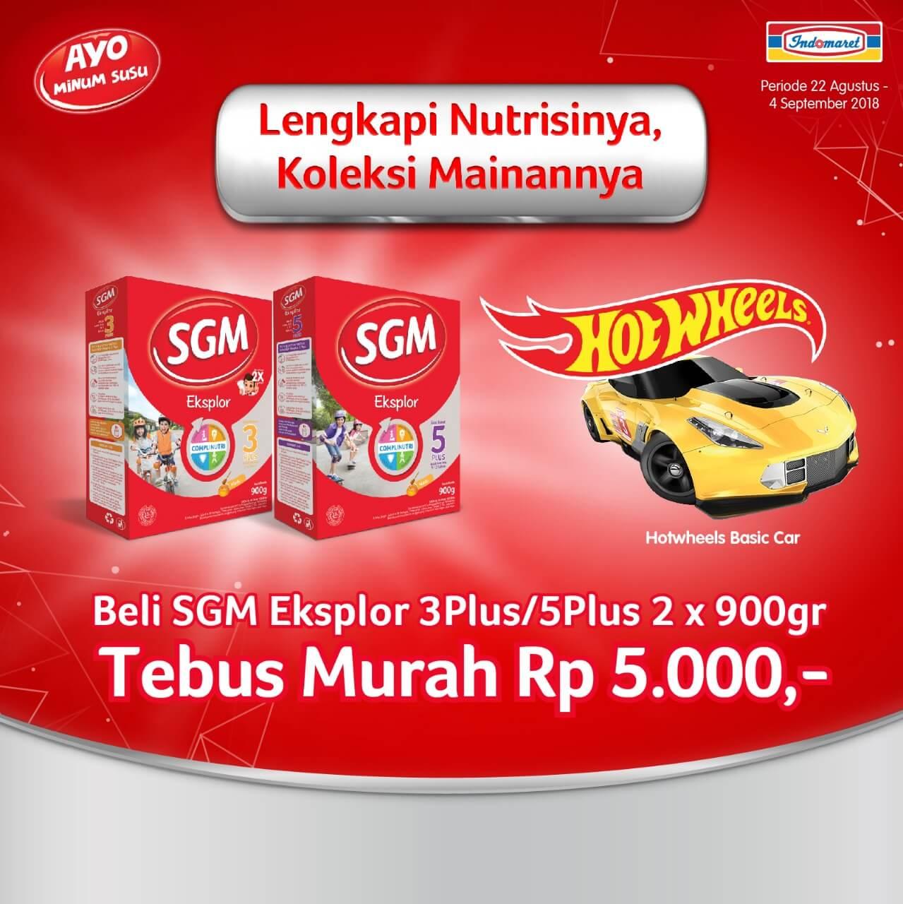 Promo Lengkapi Nutrisinya Koleksi Mainannya Di Indomaret Voucher Alfa Dan