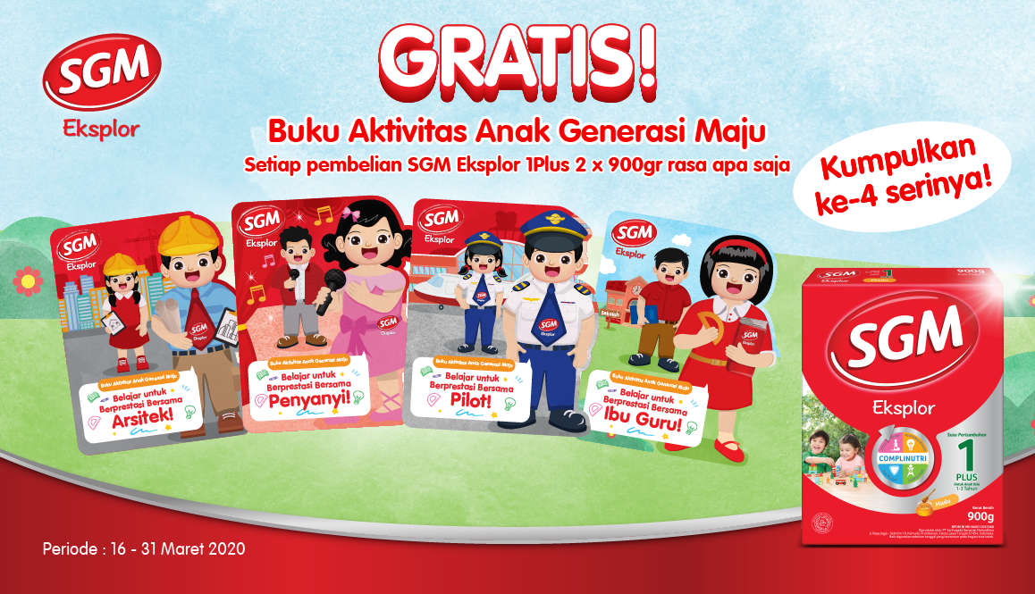 Promo Sgm Healthier Mission Exclusive Package